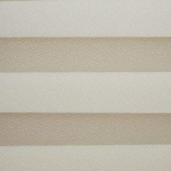 Koepel plisségordijn gebroken wit 720026 - Plisségordijn gebroken wit 720026