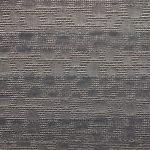 Plisségordijn grijs zwart met print/ structuur 720090