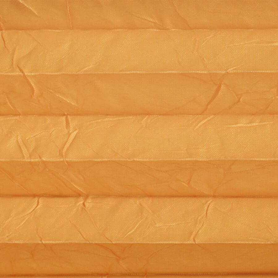 Plissé Plus 720093, transparantie 20%, verduisterend 80% – oranje – vanaf €68,-