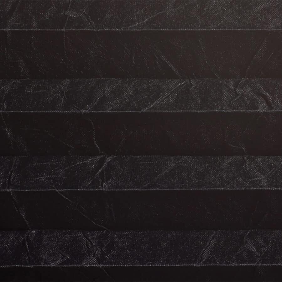 Plissé Exclusief 720123, transparantie 1%, verduisterend 99% – zwart – vanaf €75,-