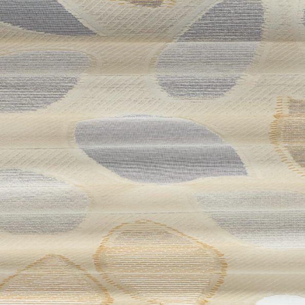 Koepel plisségordijn beige met werkje 720161 - Plisségordijn beige met werkje 720161