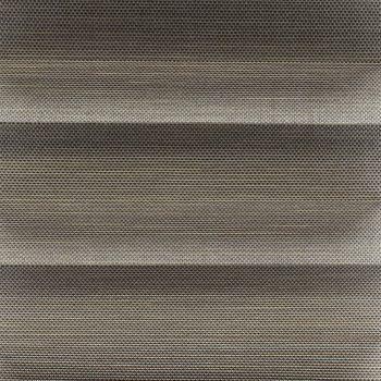 Koepel plisségordijn grijs geweven 720165 - Plisségordijn grijs geweven 720165