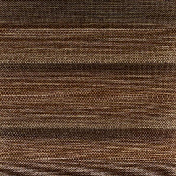 Koepel plisségordijn bruin geweven 720171 - Plisségordijn bruin geweven 720171