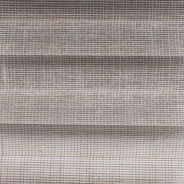 Koepel plisségordijn taupe geweven 720178 - Plisségordijn taupe geweven 720178