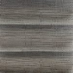 Plisségordijn grijs zwart geweven 720184