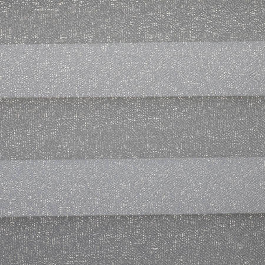 Plissé Plus 730007, transparantie 7%, verduisterend 93% – grijs glans – meest gekozen – vanaf €68,-