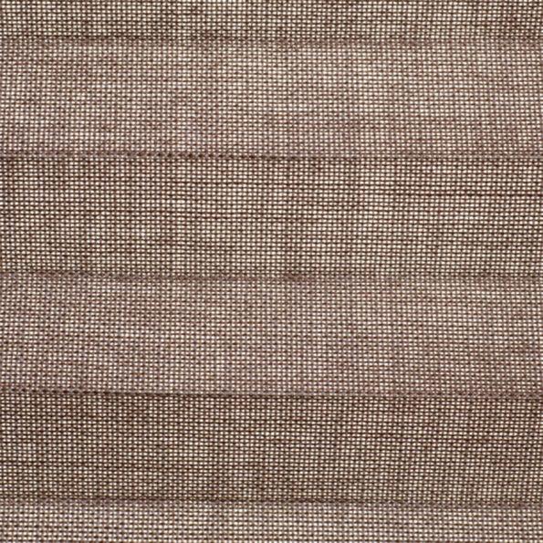 Koepel plisségordijn bruin taupe geweven 730019 - Plisségordijn bruin taupe geweven 730019