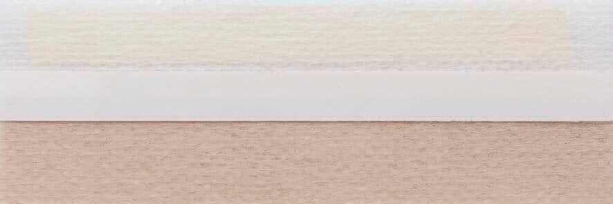 Honingraat plissé Basic 720045, reflectie 48%, transparantie 29%, absorptie 23% – lichtbeige