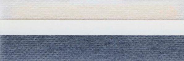 Koepel honingraat plisségordijn grijsblauw 720055 - Honingraat plisségordijn blauwgrijs 720055 - Honingraat plissé Basic 720055, reflectie 41%, transparantie 27%, absorptie 32% - (grijs)blauw - meest gekozen
