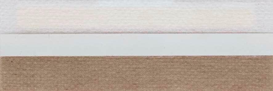 Honingraat plissé Basic 720057, reflectie 41%, transparantie 33%, absorptie 26% – lichtbruin
