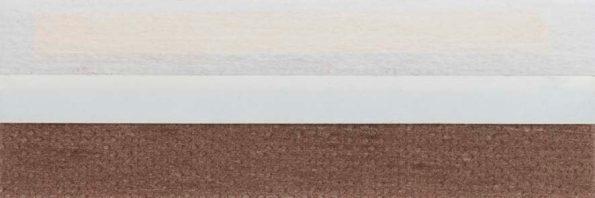 Koepel honingraat plisségordijn bruin 720124 - Honingraat plisségordijn bruin 720124 - Honingraat plissé Basic 720124, reflectie 43%, transparantie 19%, absorptie 38% - bruin