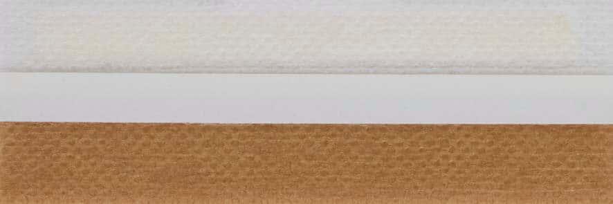 Honingraat plissé Basic 720125, reflectie 46%, transparantie 28%, absorptie 26% – bruin