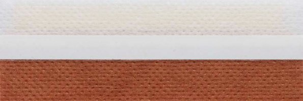 Koepel honingraat plisségordijn roest 720126 - Honingraat plisségordijn roest 720126 - Honingraat plissé Basic 720126, reflectie 43%, transparantie 19%, absorptie 38% - bruin