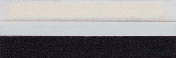 Koepel honingraat plisségordijn zwart 720127 - Honingraat plisségordijn zwart 720127 - Honingraat plissé Basic 720127, reflectie 42%, transparantie 9%, absorptie 49% - zwart