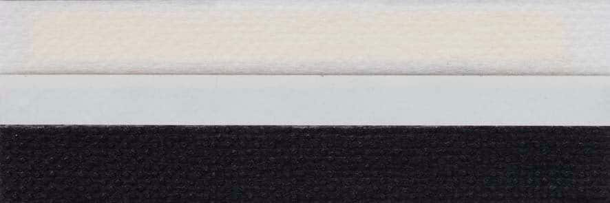 Honingraat plissé Basic 720127, reflectie 42%, transparantie 9%, absorptie 49% – zwart