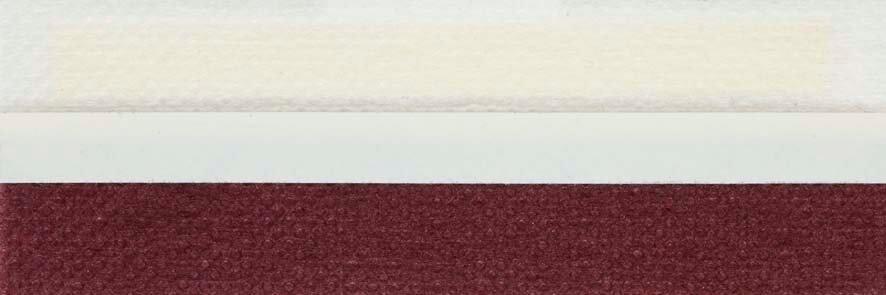 Honingraat plissé Basic 720129, reflectie 39%, transparantie 15%, absorptie 46% – aubergine
