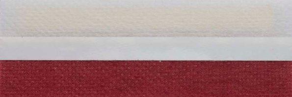 Koepel honingraat plisségordijn warm rood 720130 - Honingraat plisségordijn warm rood 720130 - Honingraat plissé Basic 720130, reflectie 40%, transparantie 19%, absorptie 41% - warm rood