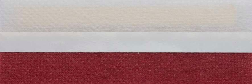 Honingraat plissé Basic 720130, reflectie 40%, transparantie 19%, absorptie 41% – warm rood