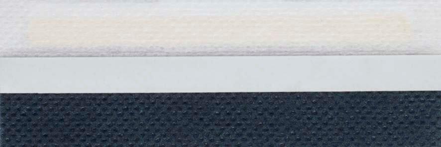 Honingraat plissé Basic 720131, reflectie 43%, transparantie 10%, absorptie 47% – blauw