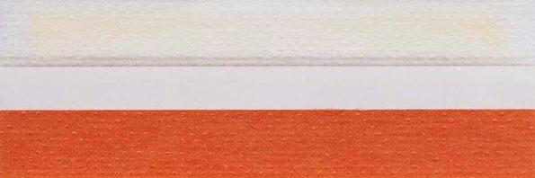 Koepel honingraat plisségordijn oranje 720133 - Honingraat plisségordijn oranje 720133 - Honingraat plissé Basic 720133, reflectie 49%, transparantie 17%, absorptie 34% - oranje