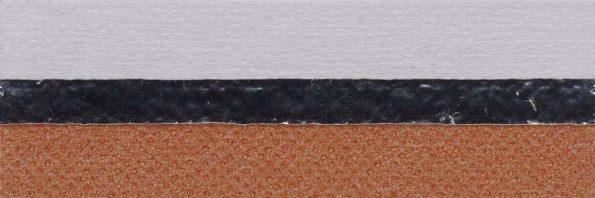 Koepel honingraat plisségordijn oranjebruin verduisterend 720143 - Honingraat plisségordijn oranjebruin verduisterend 720143 - Honingraat plissé Extra 720143, reflectie 67%, transparantie 0%, absorptie 33% (verduisterend) - oranjebruin