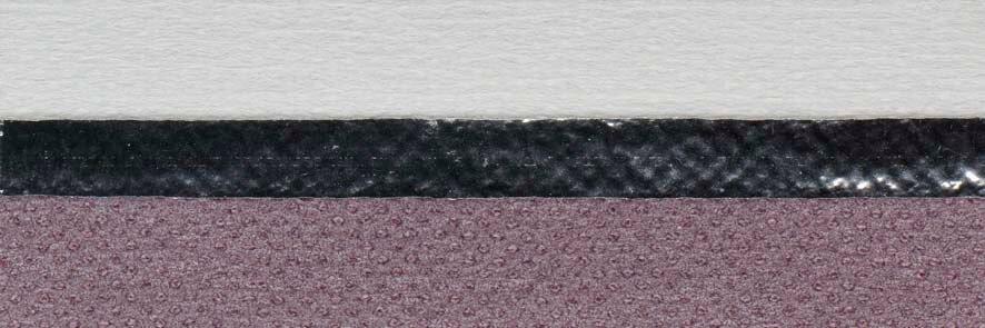 Honingraat plissé Extra 720145, reflectie 67%, transparantie 0%, absorptie 33% (verduisterend) – paars