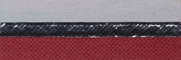 Koepel honingraat plisségordijn warm rood verduisterend 720147 - Honingraat plisségordijn verduisterend warm rood 720147 - Honingraat plissé Extra 720147, reflectie 67%, transparantie 0%, absorptie 33% (verduisterend) - warm rood