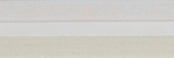 Koepel honingraat plisségordijn gebroken wit/ zeer lichtgeel 720414 - Honingraat plisségordijn lichtgeel /gebroken wit 720414 - Honingraat plissé Exclusief 720414, reflectie 55%, transparantie 20%, absorptie 25% - gebroken wit/zeer licht geel