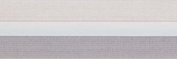 Koepel honingraat plisségordijn lichtgrijs 720415 - Honingraat plisségordijn paars 720145 - Honingraat plisségordijn lichtgrijs 720415 - Honingraat plissé Exclusief 720415, reflectie 53%, transparantie 19%, absorptie 28% - grijs