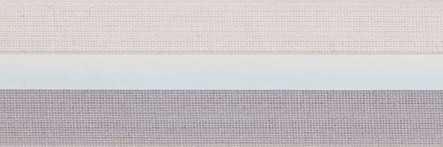 Honingraat plissé Exclusief 720415, reflectie 53%, transparantie 19%, absorptie 28% – grijs