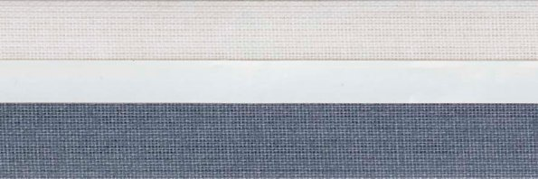 Koepel honingraat plisségordijn grijsblauw 720416 - Honingraat plisségordijn grijsblauw 720416 - Honingraat plissé Exclusief 720416, reflectie 51%, transparantie 13%, absorptie 36% - (grijsblauw)