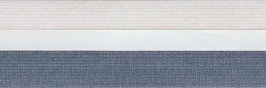 Honingraat plissé Exclusief 720416, reflectie 51%, transparantie 13%, absorptie 36% – (grijsblauw)