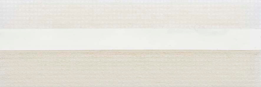 Honingraat plissé Basic 720420, reflectie 57%, transparantie 31%, absorptie 12% – gebroken wit