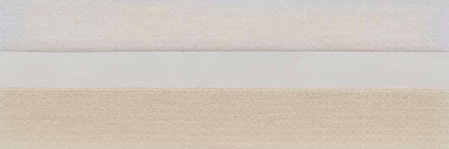 Honingraat plissé Basic 720421, reflectie 57%, transparantie 31%, absorptie 12% – gebroken wit/licht geel