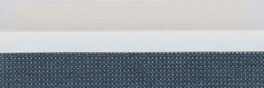 Honingraat plissé Basic 720429, reflectie 40%, transparantie 10%, absorptie 50% – blauw