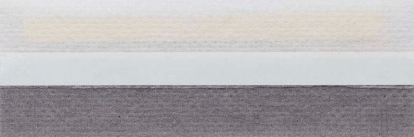 Koepel honingraat plisségordijn grijs 720430 - Honingraat plisségordijn grijs 720430 - Honingraat plissé Basic 720430, reflectie 48%, transparantie 28%, absorptie 24% - grijs
