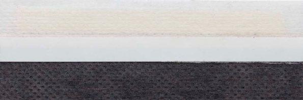 Koepel honingraat plisségordijn donkergrijs 720431 - Honingraat plisségordijn donkergrijs 720431 - Honingraat Plissé Basic 720431, reflectie 44%, transparantie 21%, absorptie 35% - grijs - meest gekozen