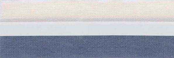 Koepel honingraat plisségordijn grijsblauw 720442 - Honingraat plisségordijn grijsblauw 720442 - Honingraat plissé Budget 720442, reflectie 48%, transparantie 17%, absorptie 35% - (grijs)blauw - meest gekozen