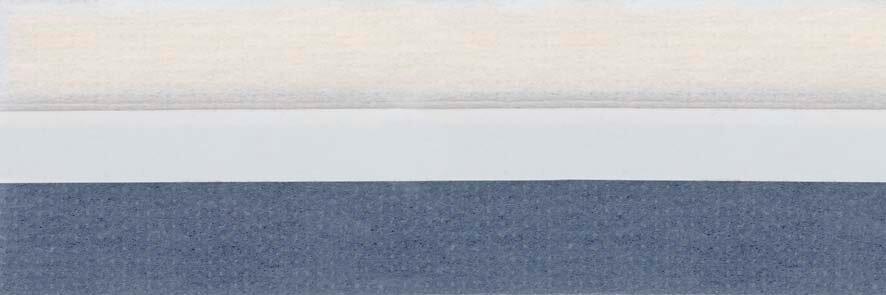 Honingraat plissé Budget 720442, reflectie 48%, transparantie 17%, absorptie 35% – (grijs)blauw – meest gekozen
