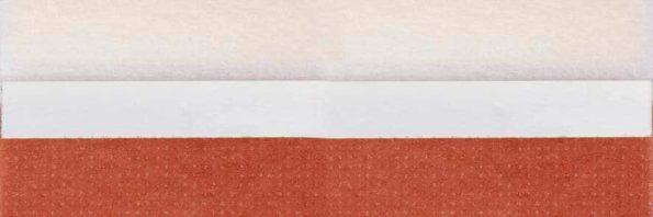 Koepel honingraat plisségordijn oranjebruin 720449 - Honingraat plisségordijn oranjebruin 720449 - Honingraat plissé Budget 720449, reflectie 39%, transparantie 22%, absorptie 39% - oranjebruin
