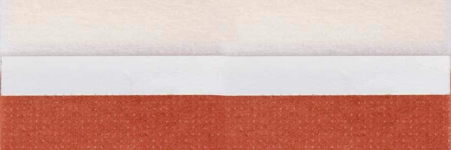 Honingraat plissé Budget 720449, reflectie 39%, transparantie 22%, absorptie 39% – oranjebruin