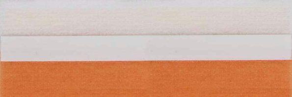 Koepel honingraat plisségordijn oranje 720451 - Honingraat plisségordijn oranje 720451 - Honingraat plissé Budget 720451, reflectie 48%, transparantie 17%, absorptie 35% - oranje