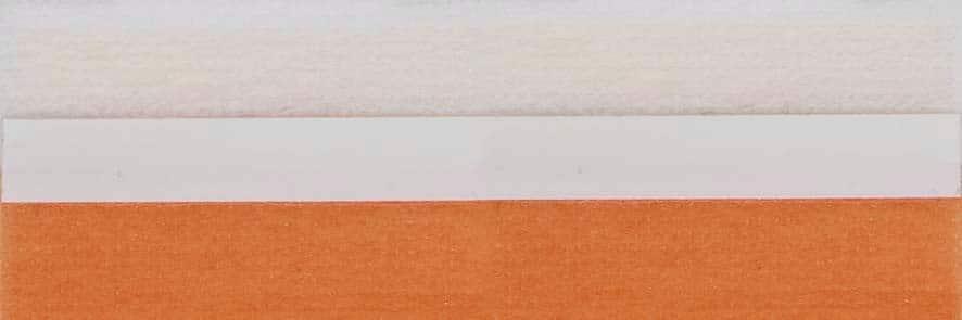 Honingraat plissé Budget 720451, reflectie 48%, transparantie 17%, absorptie 35% – oranje