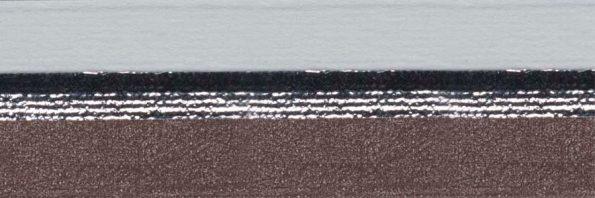 Koepel honingraat plisségordijn donkerbruin verduisterend 720460 - Honingraat plisségordijn donkerbruin verduisterend 720460 - Honingraat plissé Plus 720460, reflectie 71%, transparantie 0%, absorptie 29% (verduisterend) - bruin
