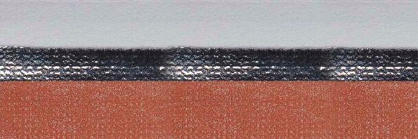 Koepel honingraat plisségordijn oranjebruin verduisterend 720470 - Honingraat plisségordijn oranjebruin verduisterend 720470 - Honingraat plissé Plus 720470, reflectie 71%, transparantie 0%, absorptie 29% (verduisterend) - oranjebruin