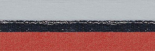 Koepel honingraat plisségordijn lichtrood verduisterend 720471 - Honingraat plisségordijn lichtrood verduisterend 720471 - Honingraat plissé Plus 720471, reflectie 71%, transparantie 0%, absorptie 29% (verduisterend) - lichtrood