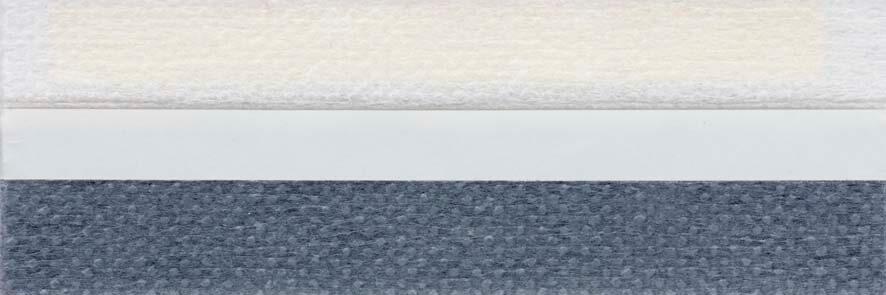 Honingraat plissé Extra 731003, reflectie 41%, transparantie 27%, absorptie 32% (brandvertragend) – grijsblauw