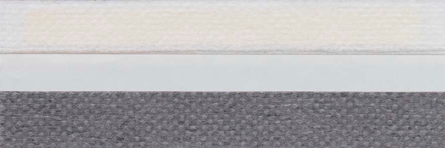 Honingraat plissé Extra 731004, reflectie 48%, transparantie 28%, absorptie 24% (brandvertragend) – grijs