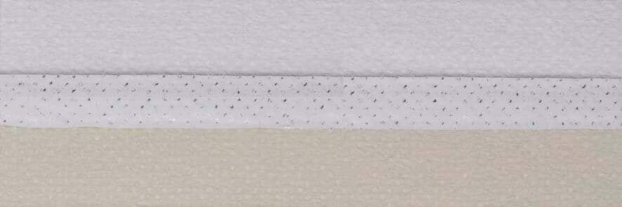 Honingraat plissé Exclusief 731006, reflectie 67%, transparantie 0%, absorptie 33% (verduisterend en brandvertragend) – creme