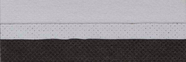 Koepel honingraat plisségordijn zwart verduisterend en brandvertragend 731008 - Honingraat plisségordijn zwart verduisterend en brandvertragend 731008 - Honingraat plissé Exclusief 731008, reflectie 67%, transparantie 0%, absorptie 33% (verduisterend en brandvertragend) - zwart